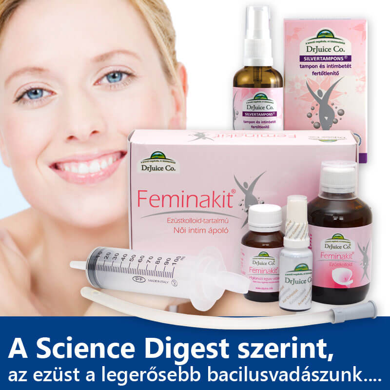 drjuice femina kit ezüstkolloid csomag