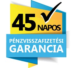 45 napos pénzvisszafizetési garancia